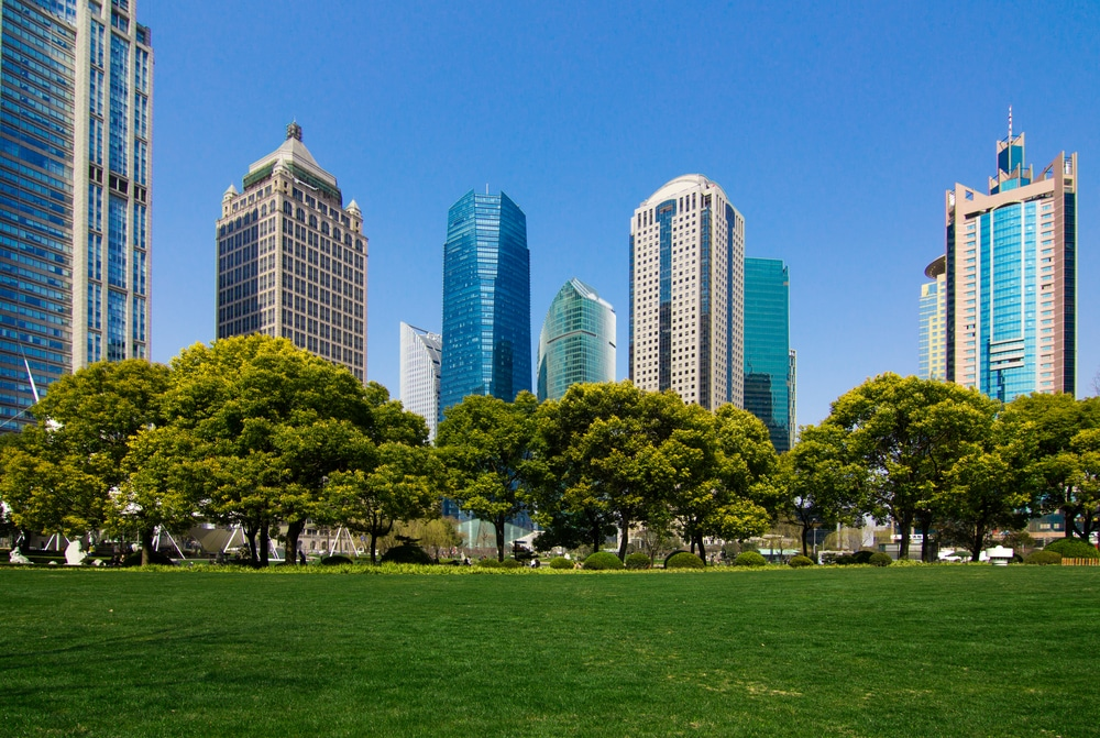Urban green space fights crime