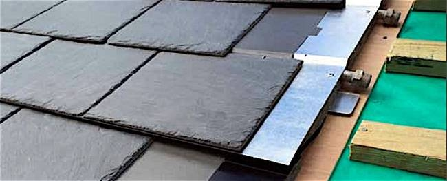 Thermoslate Solar Thermal System Integrates Into Slate Roof