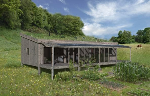 Waghorn monopitch sustainable homes