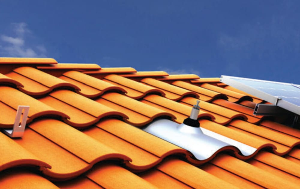 solar panel mounts for tile roofs