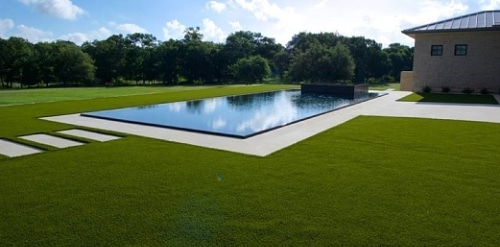 Artificial turf installation by LawnPop in Austin, TX