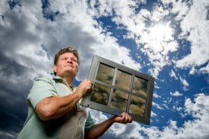 SolarWindow window coating President, John A. Conklin
