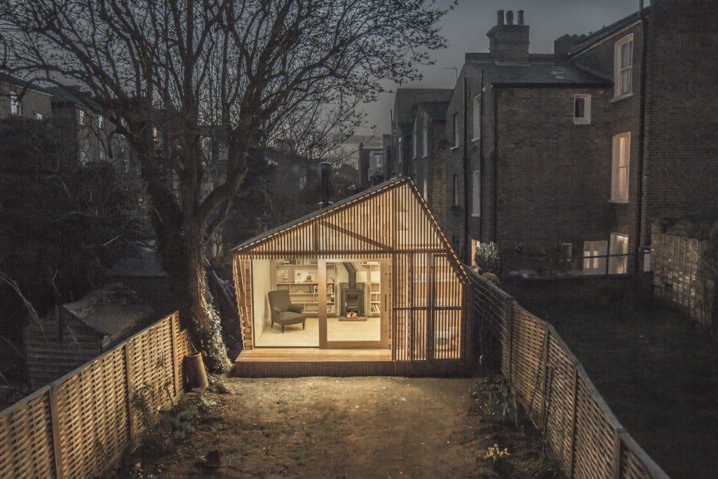 Surman Weston small writer's shed