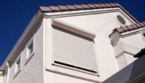 exterior roll shutters