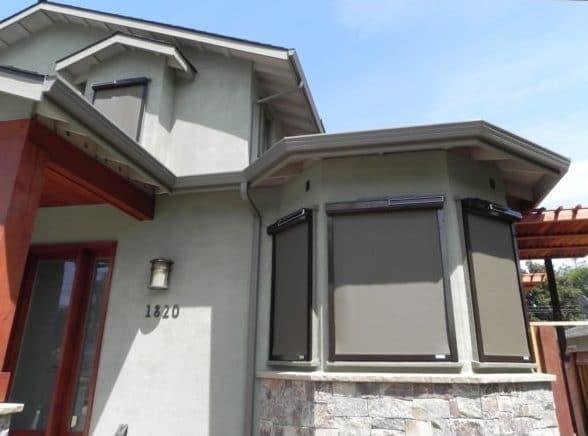 solar screens net zero home