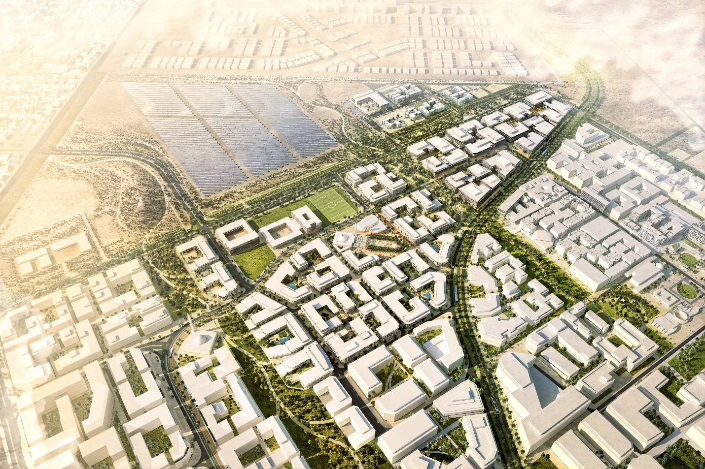 Masdar City Launches Phase 2 Master Plan Green Building Elements 2019