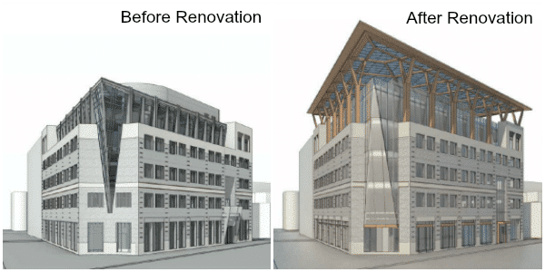 renovation building