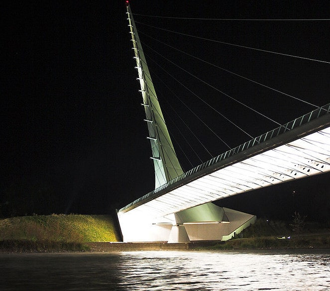Calatrava Sundial Bridge. Credit: Wikipedia commons