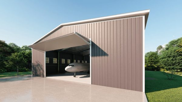 Aircraft hangars 100x125 hangar metal building rendering 3