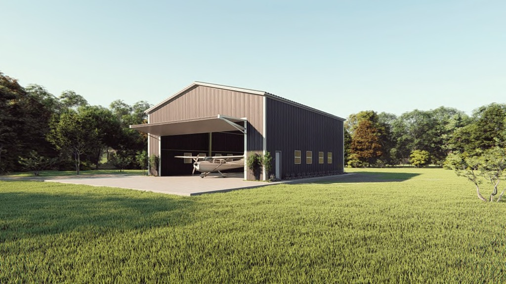 metal airplane hangar kits: get a price for your steel prefab building