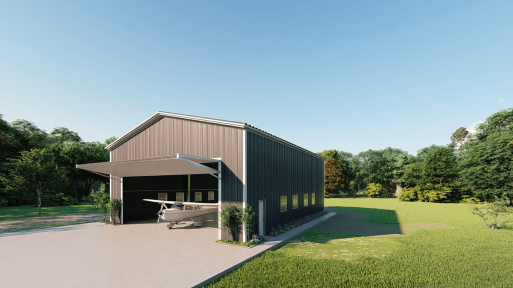 Metal Airplane Hangar Kits: Get a Price for Your Steel Aircraft Building