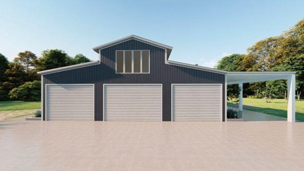 Barndominiums 40x60 barndominium barndomin metal building rendering 2