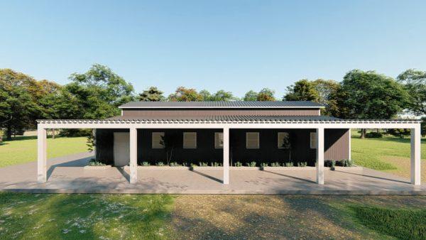 Barndominiums 40x60 barndominium barndomin metal building rendering 5