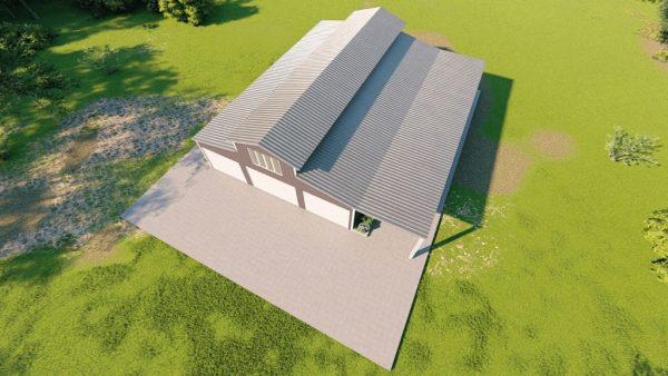 Barndominiums 40x60 barndominium barndomin metal building rendering 6
