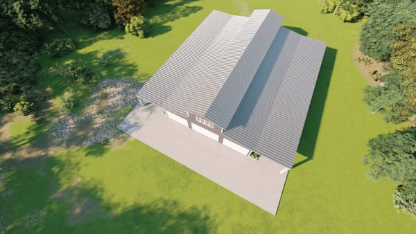Barns 60x100 barn metal building rendering 6 1