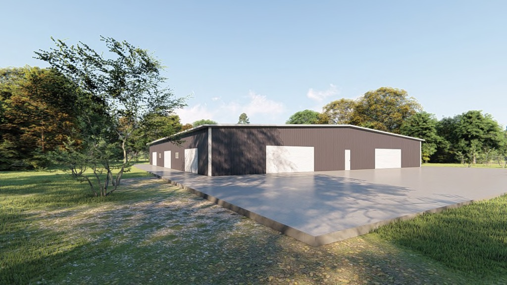 100x100 Metal Building Package: Get a Price for Your Steel Building