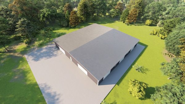 Base building packages 100x100 metal building rendering 6