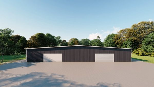 Base building packages 100x150 metal building rendering 2