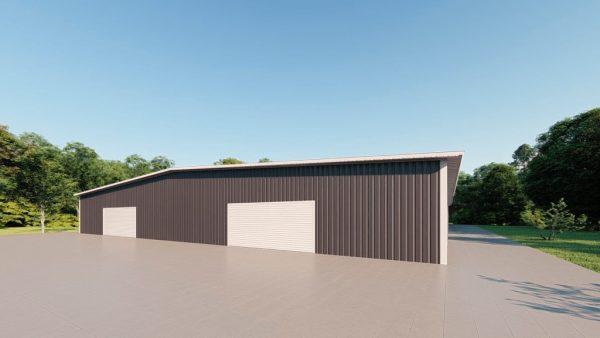 Base building packages 100x150 metal building rendering 3
