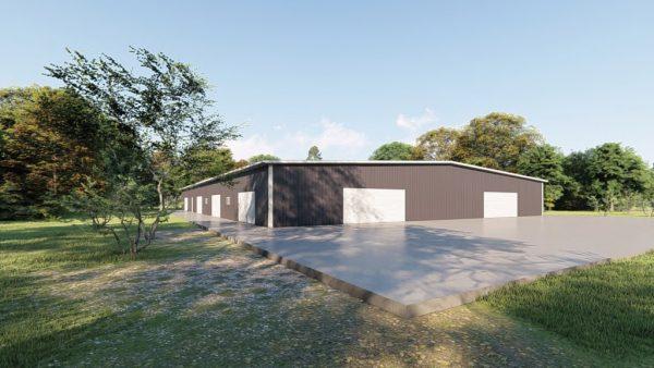 Base building packages 100x150 metal building rendering 4