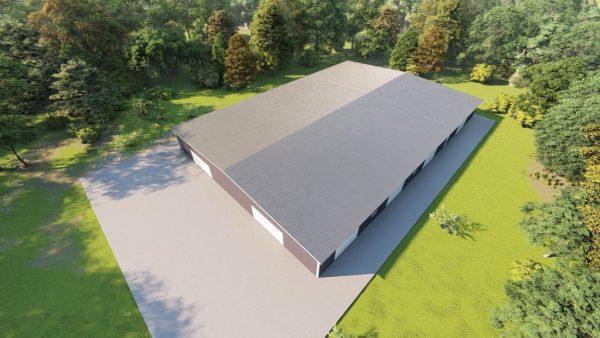 Base building packages 100x150 metal building rendering 6