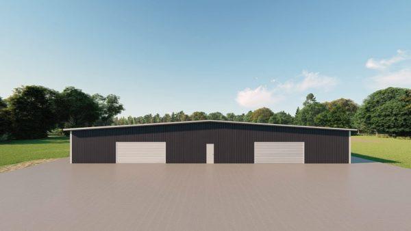 Base building packages 100x300 metal building rendering 2