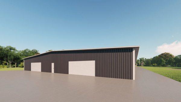 Base building packages 100x300 metal building rendering 3
