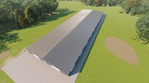 Base building packages 100x300 metal building rendering 6