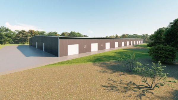 Base building packages 200x400 metal building rendering 5