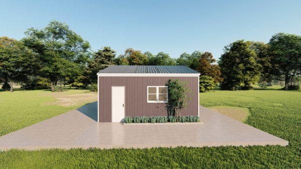 Base building packages 20x20 metal building rendering 5