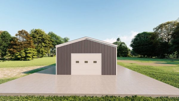 Base building packages 20x30 metal building rendering 2