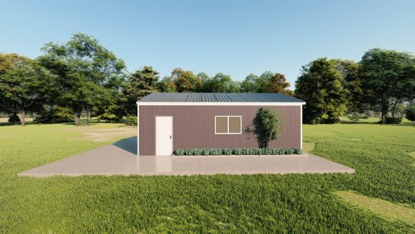 Base building packages 20x30 metal building rendering 5