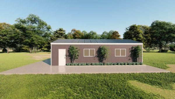 Base building packages 20x40 metal building rendering 5