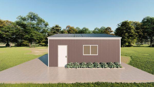 Base building packages 24x24 metal building rendering 5