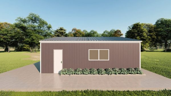 Base building packages 24x30 metal building rendering 5