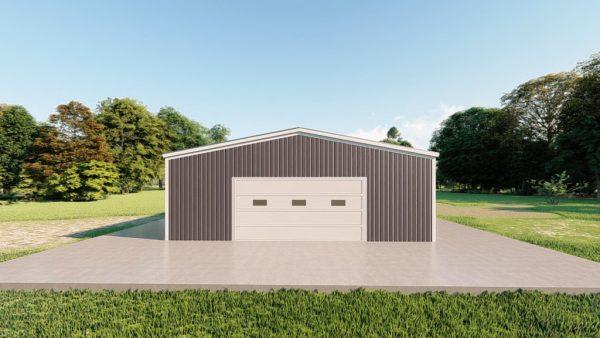 Base building packages 30x30 metal building rendering 2
