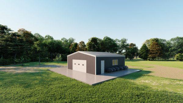 Base building packages 30x30 metal building rendering 3