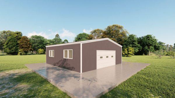 Base building packages 30x30 metal building rendering 4