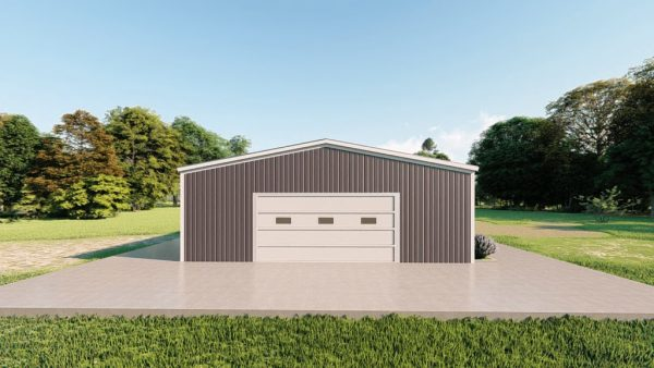Base building packages 30x40 metal building rendering 2
