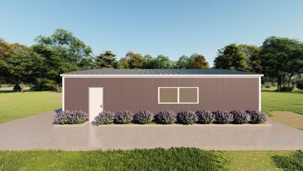 Base building packages 30x40 metal building rendering 5