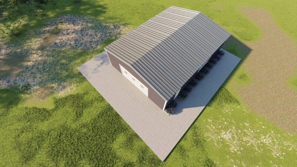 Base building packages 30x40 metal building rendering 6