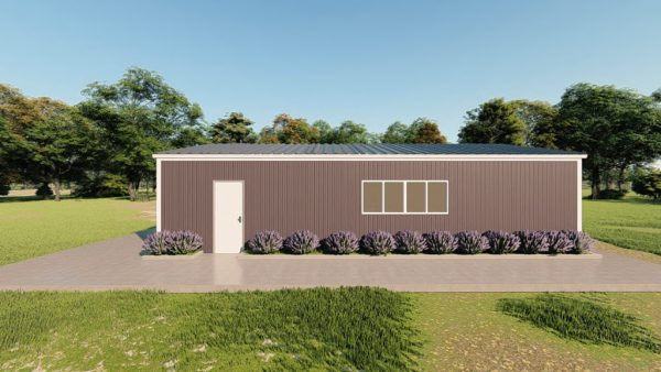 Base building packages 30x48 metal building rendering 5