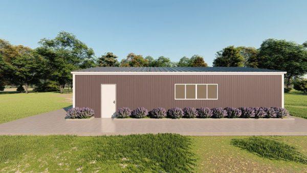 Base building packages 30x50 metal building rendering 5