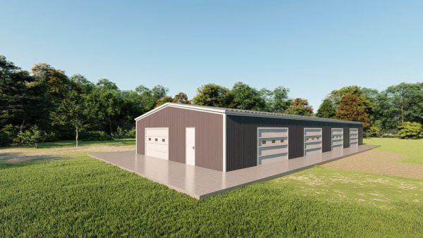 Base building packages 40x100 metal building rendering 3