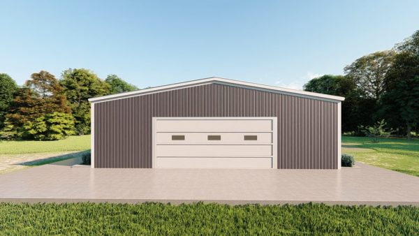 Base building packages 40x40 metal building rendering 2