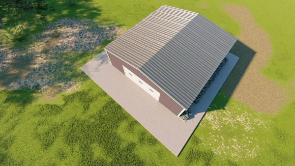 Base building packages 40x40 metal building rendering 6