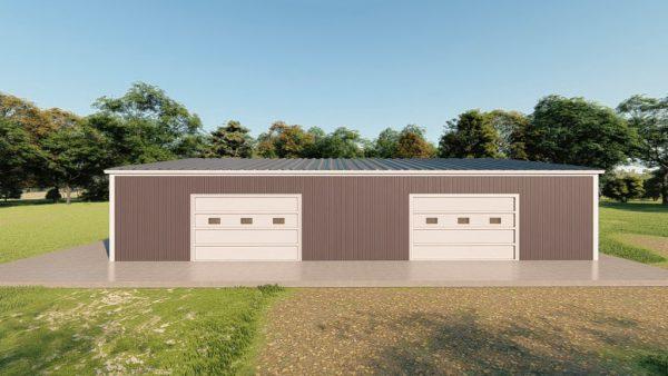 Base building packages 40x60 metal building rendering 5