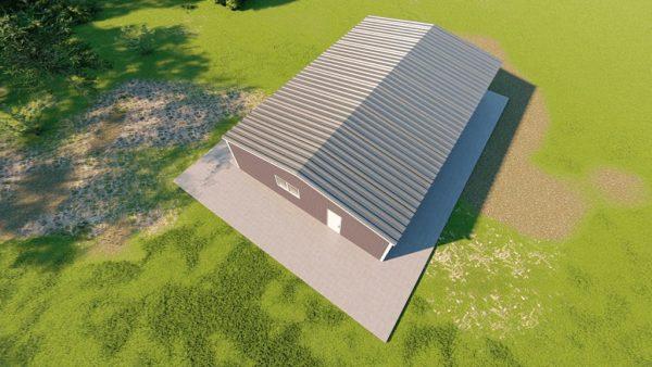 Base building packages 40x60 metal building rendering 6