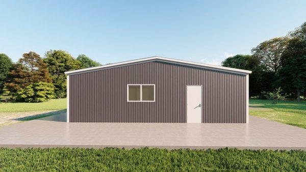 Base building packages 40x80 metal building rendering 2