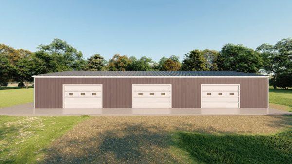 Base building packages 40x80 metal building rendering 5